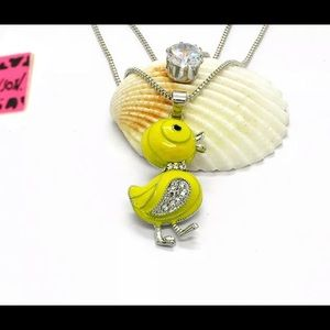 BETSEY JOHNSON~ Ducky Necklace